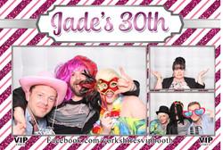 Jade's 30th Birthday - Photo Booth