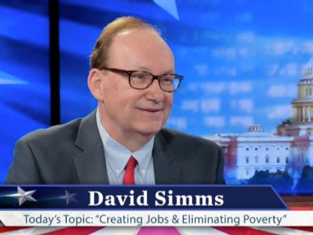David Simms TV Interview