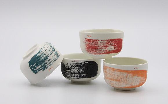 Petites tasses en porcelaine