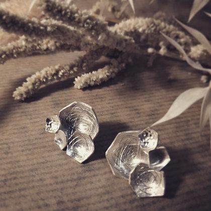 Boucles d'oreilles Nymphéas multi