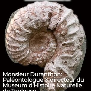 Visio-échange avec monsieur Duranthon, Paléontologue