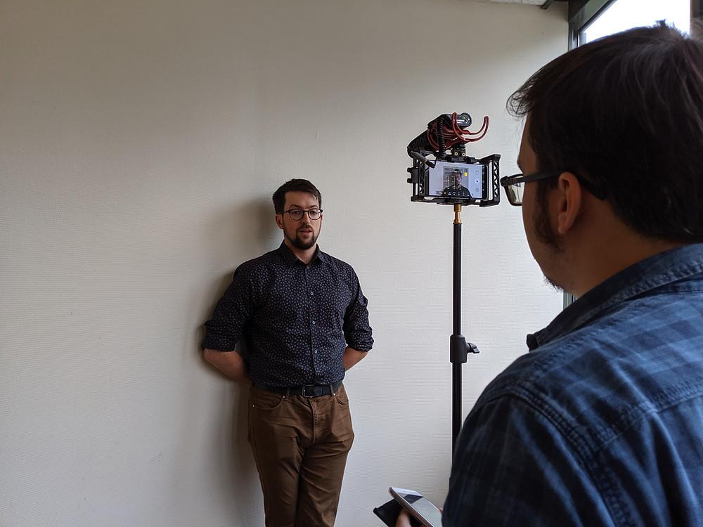 Interview de Mikaël LEFEVRE par Curieux!