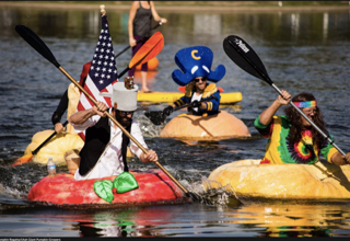 giant pumpkin boat race