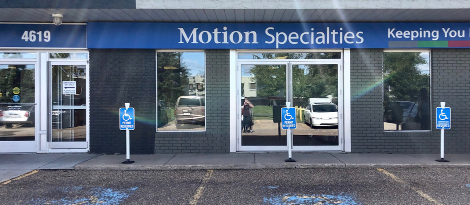 Visiting the Edmonton Seating Clinic!