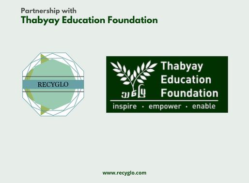 Partnership with Thabyay Education Foundation 2020