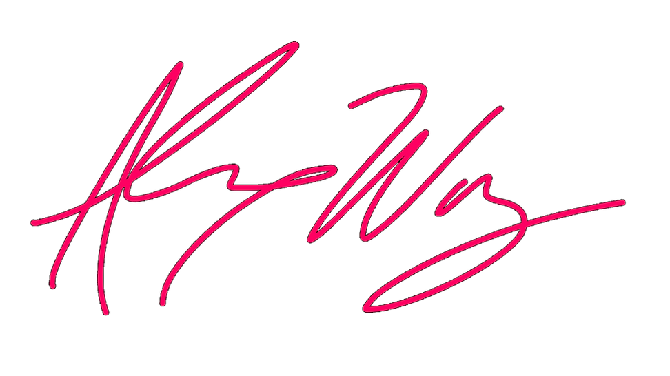 Alex Way logo Hot Pink.png