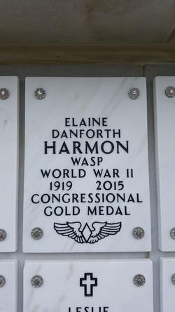 Elaine's gravestone at ANC