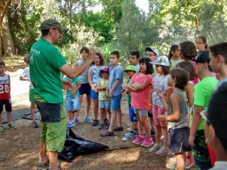 Transmitiendo valores ambientales en la ecoescuela