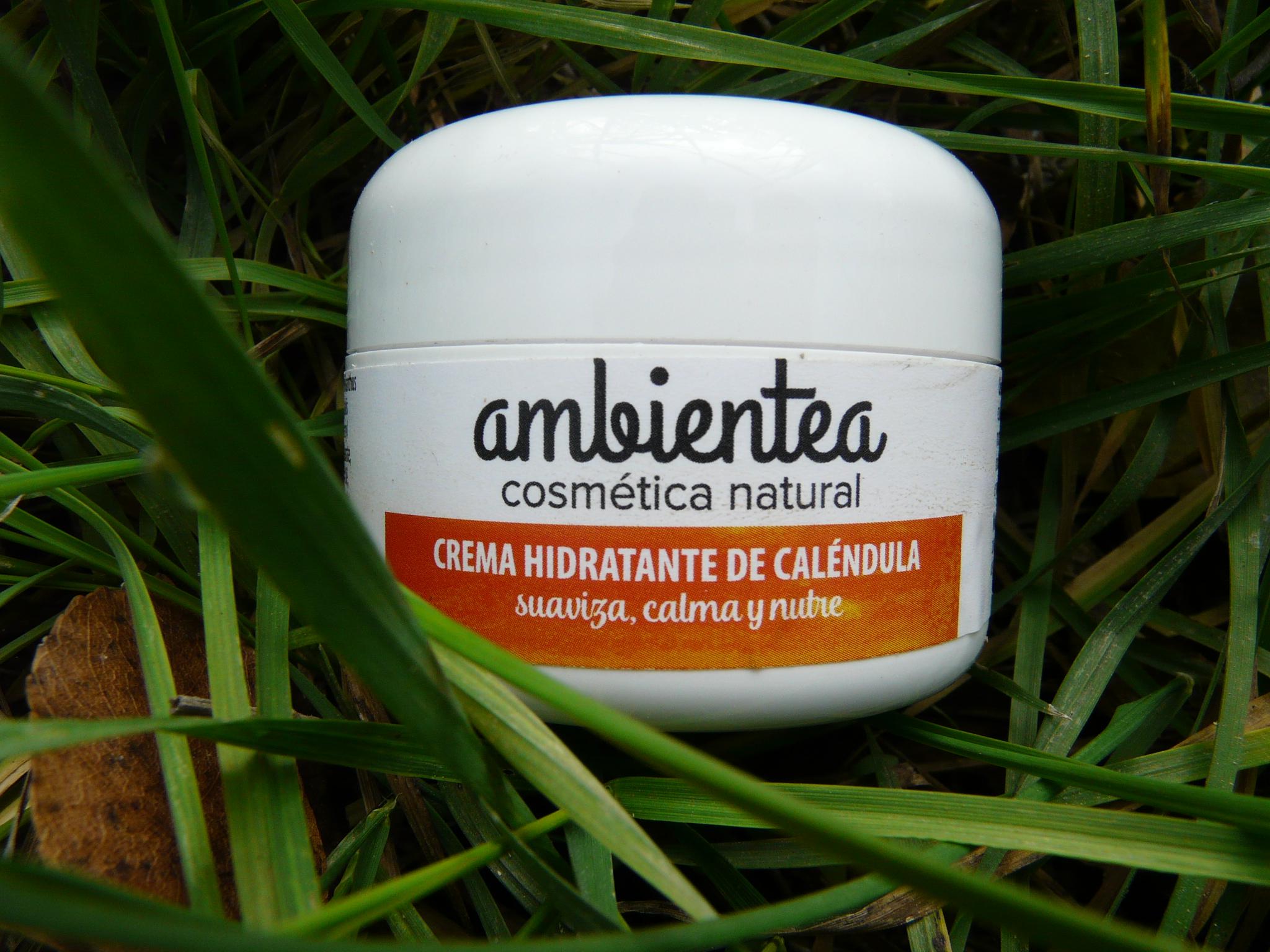 Crema hidratante de Caléndula