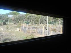 Vistas desde el interior del hide