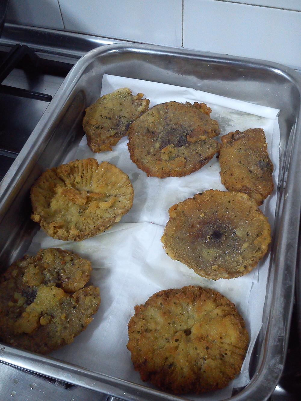 Macrolepiotas empanadas