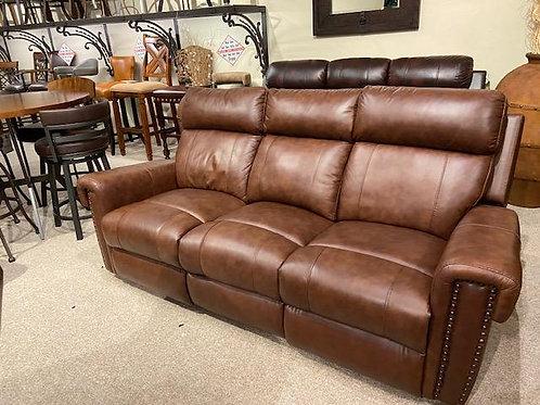Leather Italia Reclining Sofa