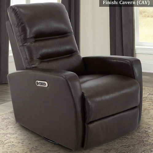 Ringo Power Recliner with Power Headrest Top Grain Leather