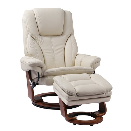 Hana Reclining Chair and Ottoman