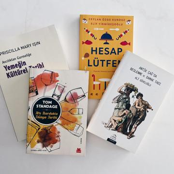 Atelier Gusto Öneriyor: Gastronomi Kitapları Seçkisi #1