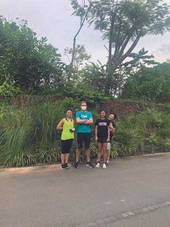 """""""Wir sind Teil der Erbe Community - auch beim Sport."""" Erbe Singapur"""