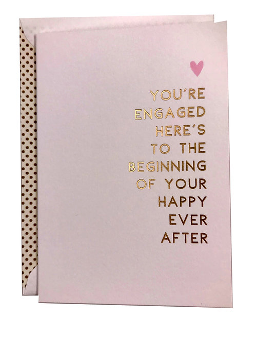 Beginning of Your Happy Ever After Card