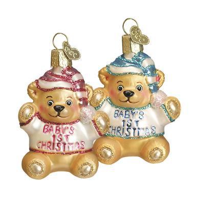 Baby's First Teddy Bear Ornament