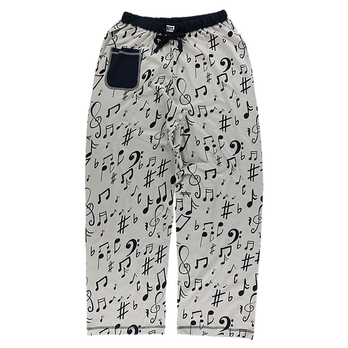 Women's Music Note PJ Pants