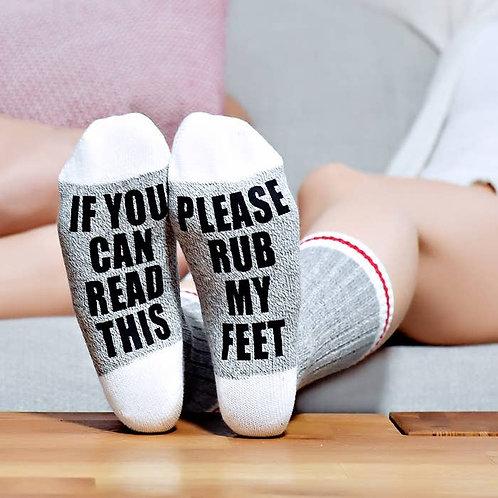 Rub My Feet Socks