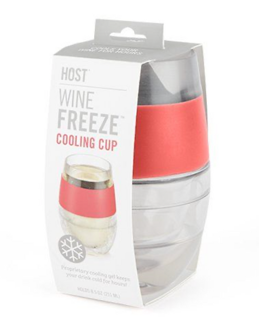 Wine Freeze Cup Coral Band
