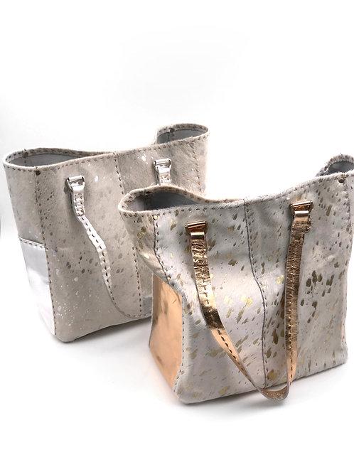 Cowhide Luxury Tote Bag