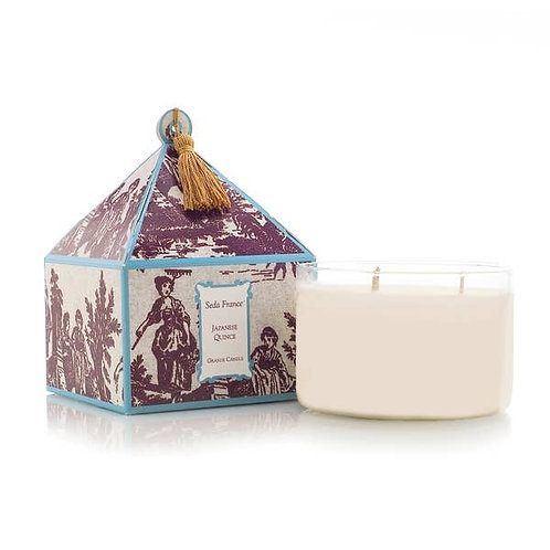 Japanese Quince Three Wick Candle