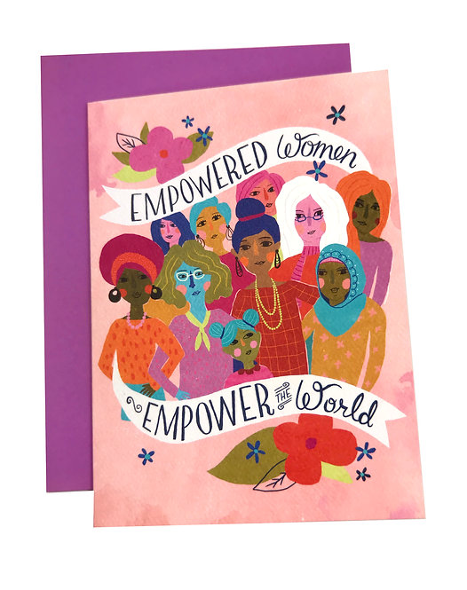Empowered Women Card