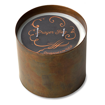 Patina Copper Candle