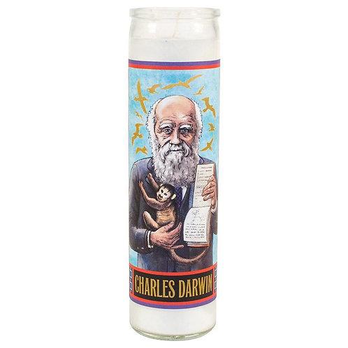 Charles Darwin Candle