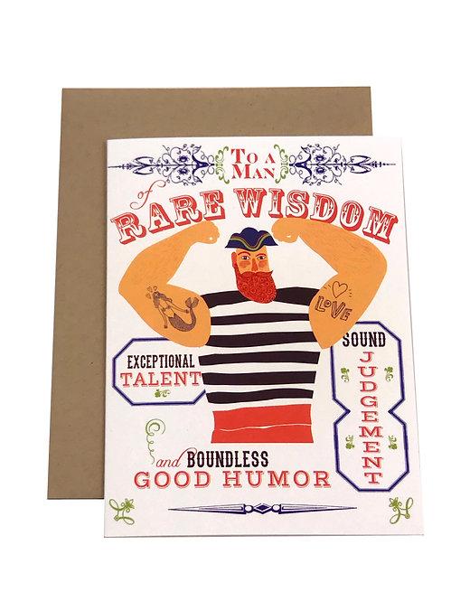 Dude Birthday card
