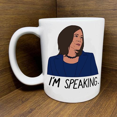 "Kamala Harris ""I'm Speaking"" Mug"