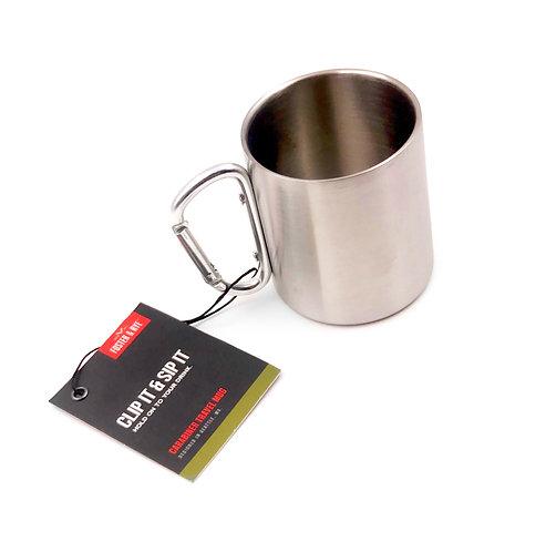 Carabiner Clip Travel Mug