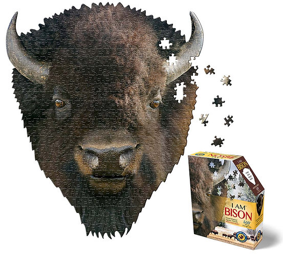 Bison Head Puzzle