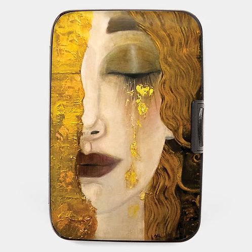 Klimt Golden Tears Armored Wallet