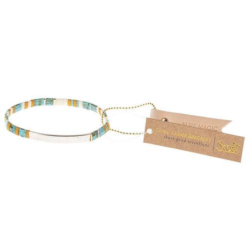Pure Magic - Turquoise/Silver Bracelet