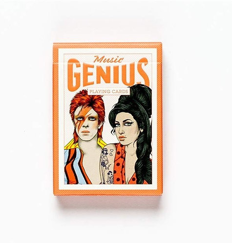 Genius Music Playing Cards