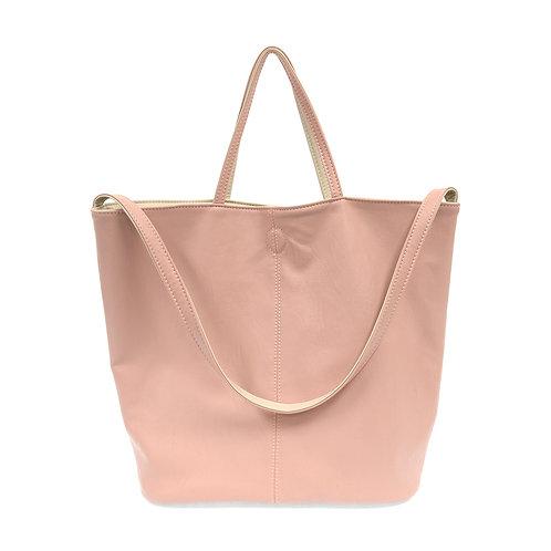 Soft Pink Reversible Duo Tote Bag
