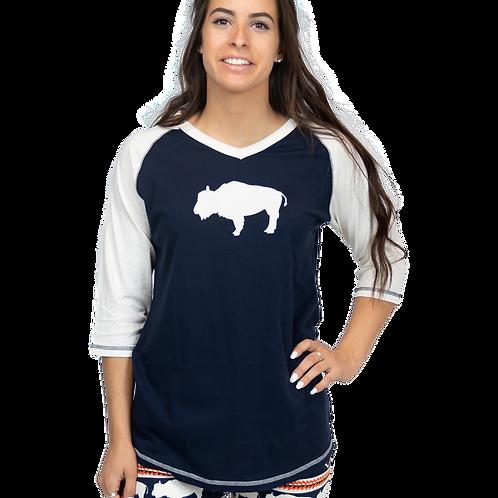 Women's Fair Isle Buffalo PJ Shirt