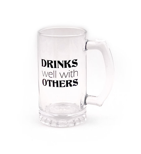 Drinks Well with Others Stein