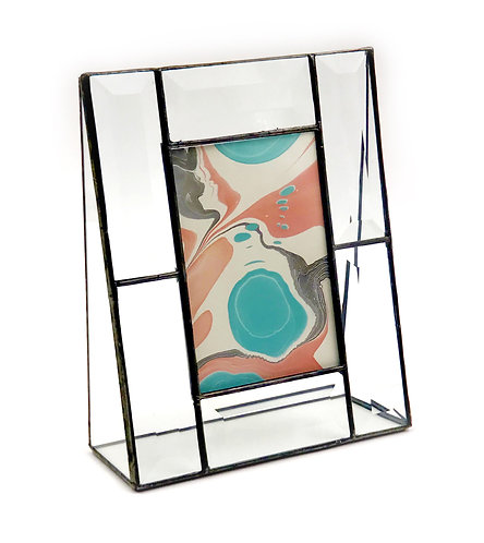 "Beveled Glass Fame 3.5"" x 5"" Vertical"