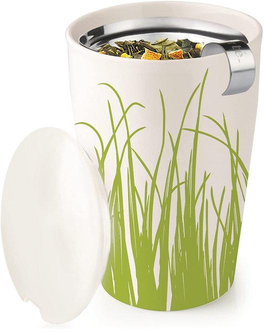 Spring Grass Mug and Earl Grey Tea Gift Set