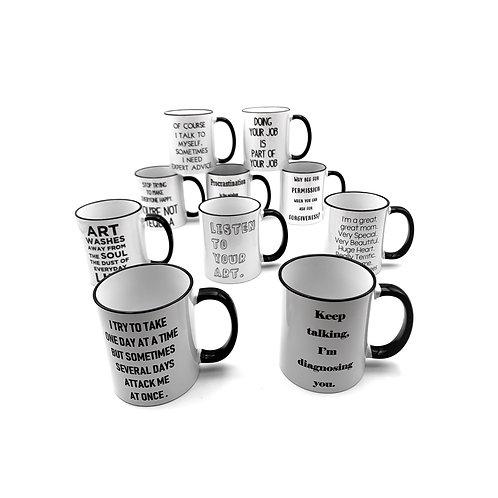 Clever Advice Mugs