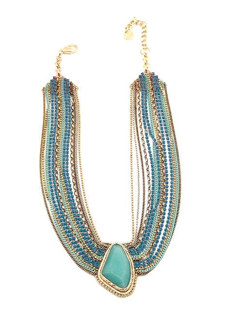 Jade Cleopatra Necklace