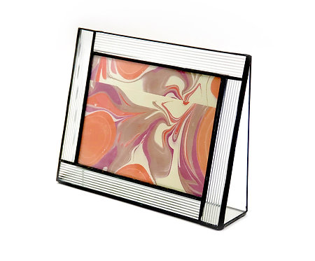 Textured Glass 4x6 Horizontal Frame