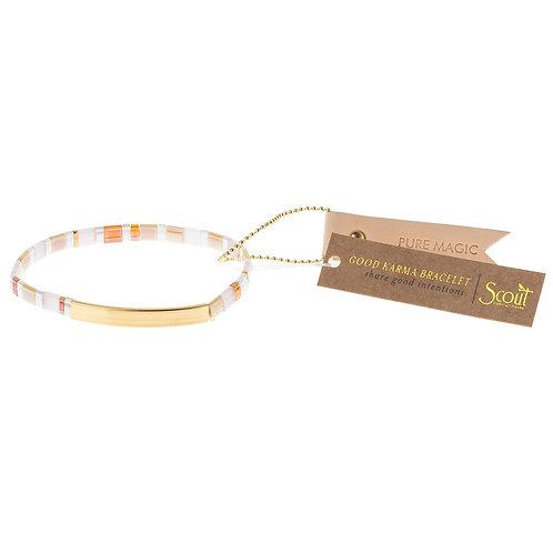 Pure Magic - Neutral/Gold Bracelet