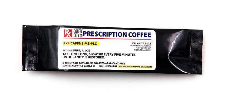 Prescription Coffee/ Tea