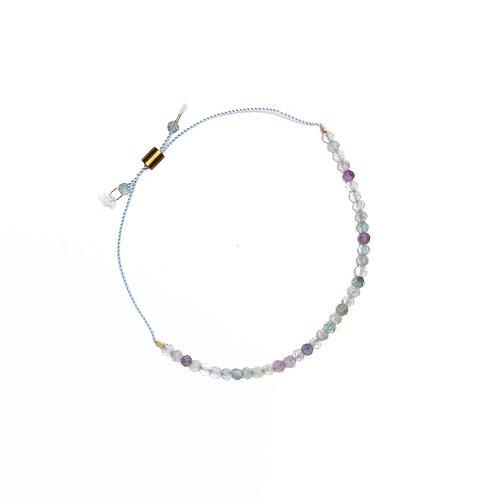 Fluorite Stone Bracelet