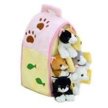 Pink Cat Puppet House