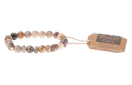 Mexican Onyx Stone Bracelet - Stone of Confidence